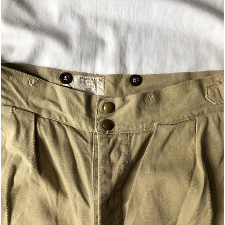 1952 Royal Australian Army Studs Chino Trousers Good Condition/7