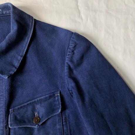 Early1930's Heavy Cotton Twill 4 pocket Work Jacket