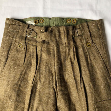 1954's Royal Army Battle Dress Trousers Dead Stock