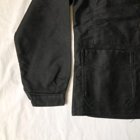 """Early40's Black Moleskin Coverall.〜Mint Condition. Made by AU COMPAGNON"""""""