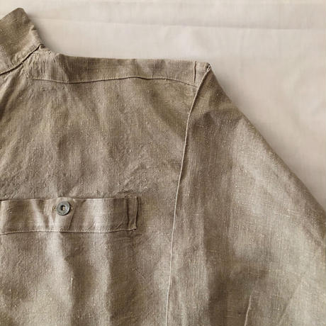 Eary 1900's〜1910's French Military Bourgeron Shirt. Mint Condition〜Dead Stock