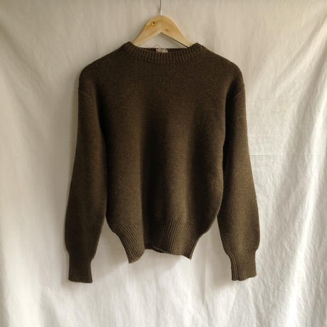 50's French Army Wool Sweater