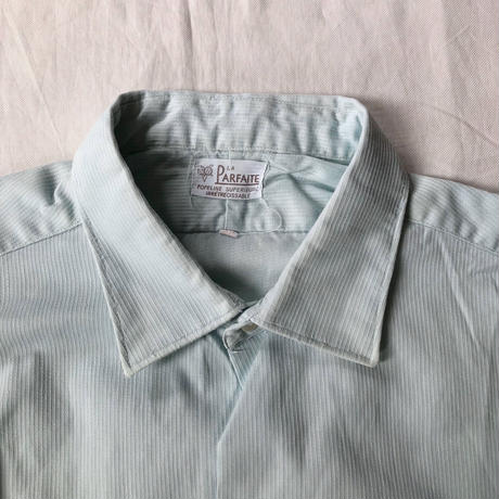 "40's French Farmer's ""Holiday Shirt"" Old Pattern"