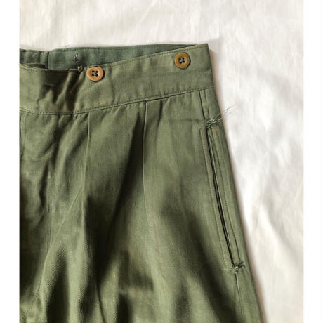 40's British Army KD Trousers.