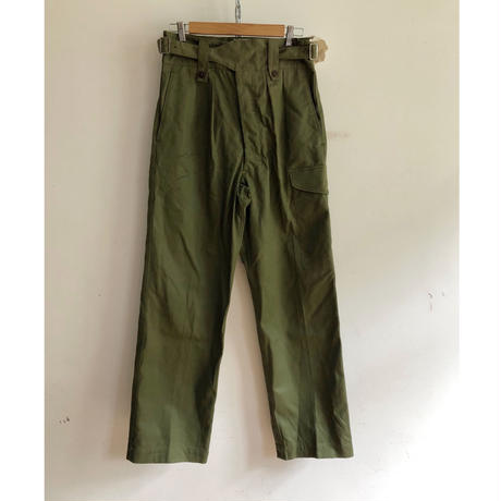 1963 Royal Australian Army Gurkha Trousers Dead Stock