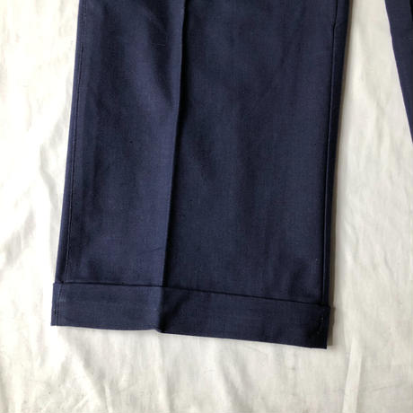 "40's Metis (Cotton/Linen) Work Pants Dead Stock Made by ""Adolphe Lafont"""