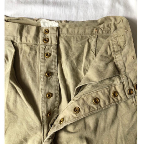 50's Royal Australian Army Studs Chino Trousers Good Condition/3