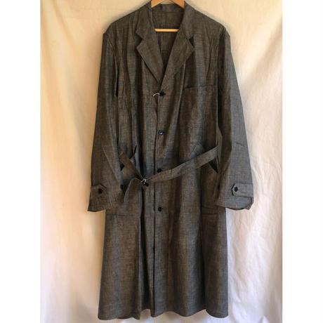 1930'〜1940's  Linen Chambray Work Coat Dead Stock/1
