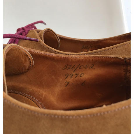 70's〜80's OLD Tricker's Suede Shoes