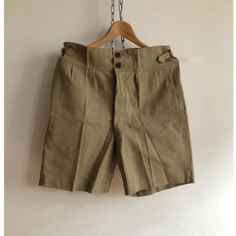 1943〜1944 Royal Australain Air Force Side Adjustable Shorts Dead Stock.