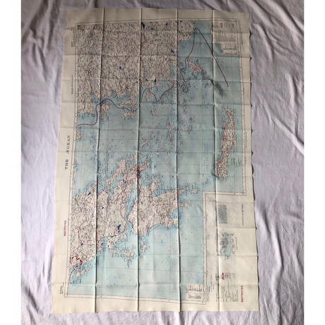 "1953 Royal Air Force Escape Scarf Dead Stock ""Istanbul"""