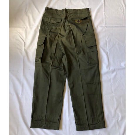 "60's French Army M47 Field Trousers Dead Stock ""23"""