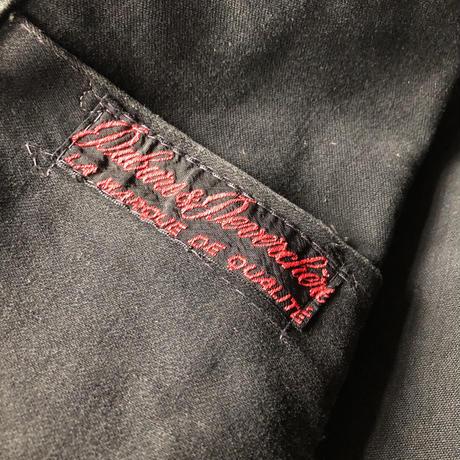 40's/Early50's Black Moleskin Coverall Dubre&Deverchere
