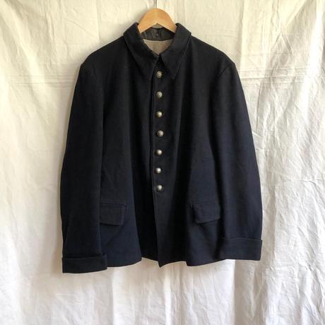 1930's/1940's Black Wool Fireman Jacket
