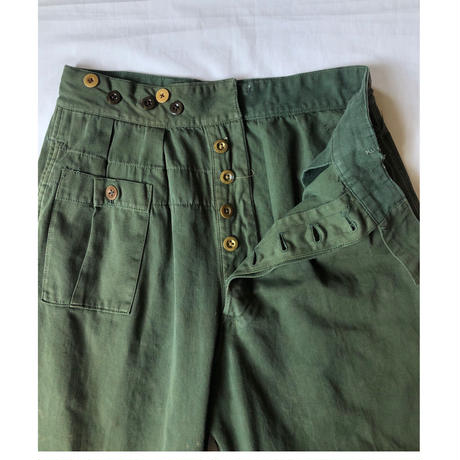 40's〜50's British Army KD Trousers.