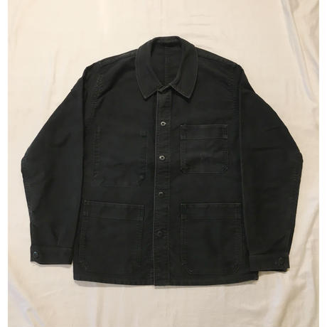 50's Black Moleskin Coverall