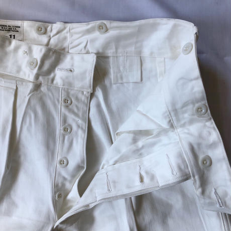 "1957 Royal Regiment of Scotland ""Cotton Drill"" Parade Trousers Dead Stock"