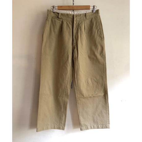 Later40's〜Early50's French Army Chino Trousers Single Back pocket