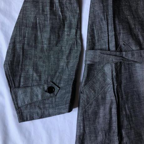 1930's〜1940's  Linen Chambray Work Coat Dead Stock/2