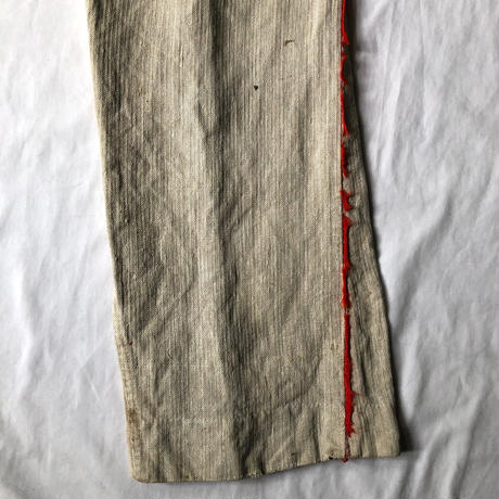 Pre 1900's Natural HBT Linen Fireman Pants