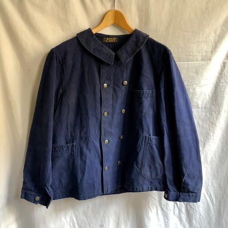 〜Later30's Double Breasted Work Jacket Made by FOR