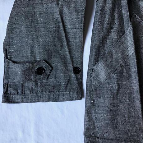 30's Linen Chambray Atelier Coat Dead Stock/1