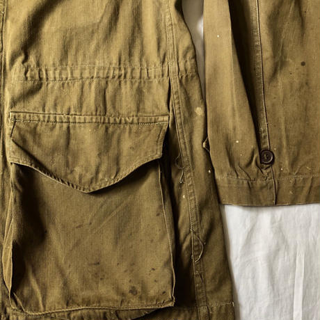 """60's French Army M47 Field Jacket """"22"""""""