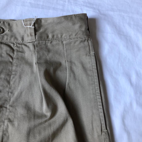 60's French Army M52 Chino Trousers.