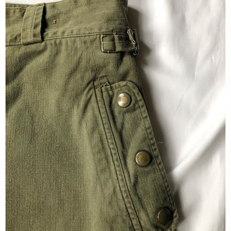 "60's French Airborn  Paratrooper Trousers ""Plain"""