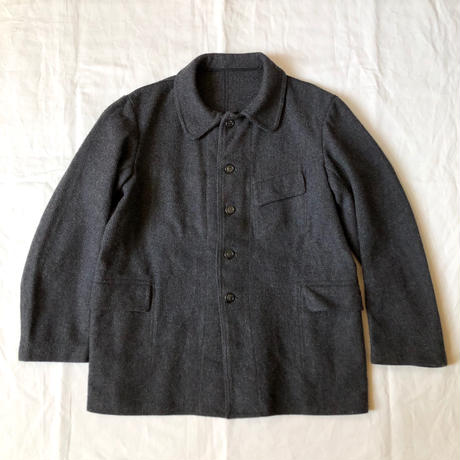 1940's/1950's Wool Farmers Work Jacket Dead Stock Made from Pascal Fabric