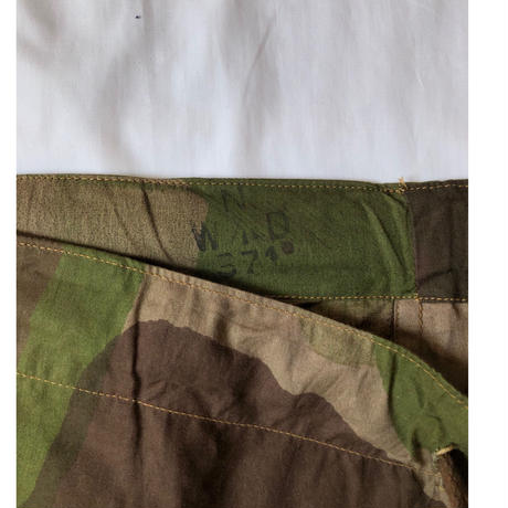 1943's Royal Army S.A.S Windproof Combat Trousers Dead Stock