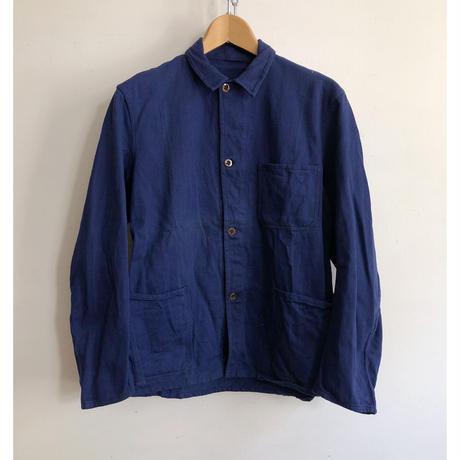 30's Belgian Cotton/Linen Work Jacket Dead Stock
