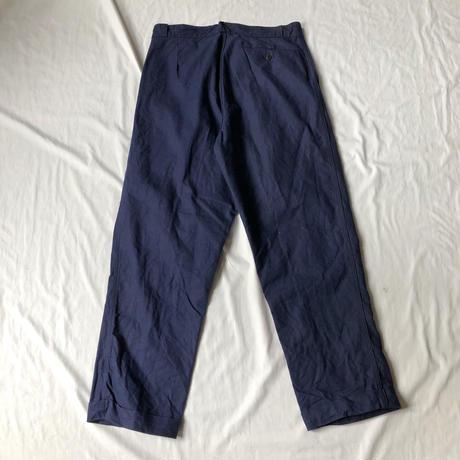 """40's Metis (Cotton/Linen) Work Pants Dead Stock (One Wash) """"Non Label"""""""