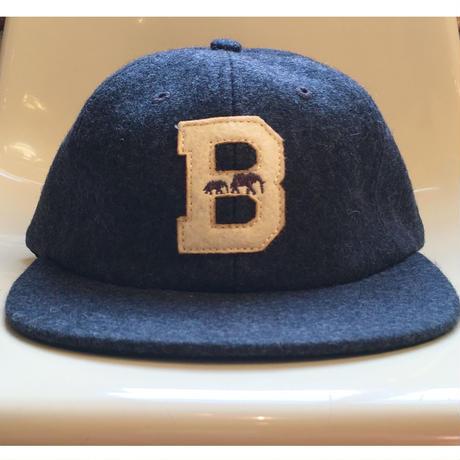 "The BROOKLYN CIRCUS Felt ""B"" Ball Cap"