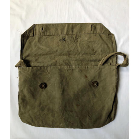 40's French Army Musette Bag Line Fabric (Lil big size)