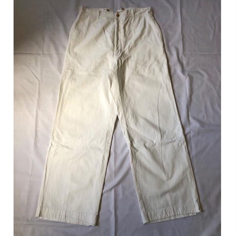 30's French Military Officer Trousers.