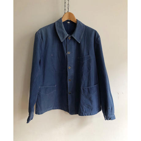 〜1930's Indigo Cotton French Workwear