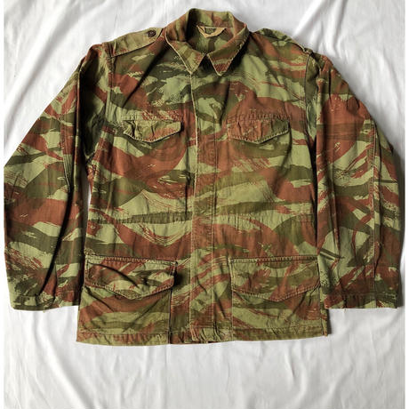 "60's French Army M47 Field Jacket Lizard Striped Pattern For ""Foreigner Unit"""