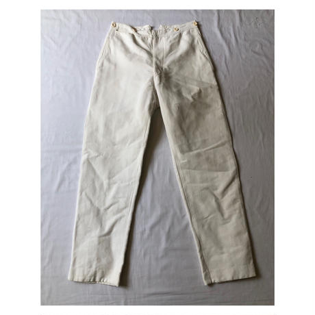 30's French Military Work Trousers.