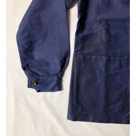 "Early 40's Ink Blue Moleskin  Coverall Dead Stock Made by ""LATHLETE"""