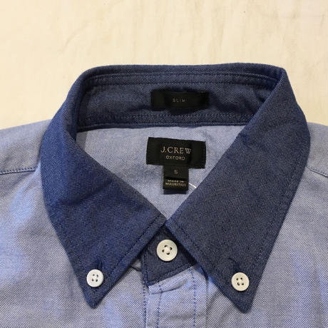 J.Crew  Switch Sewing Oxford B.D Shirt