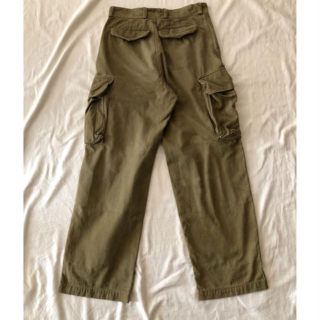"60's French Army M47 Field Trousers ""31"""