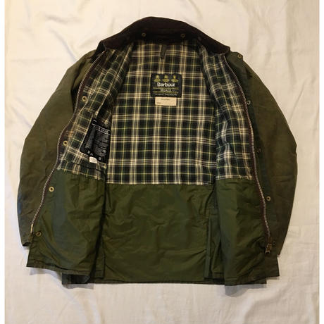 "80's Barbour 3Crest ""Old Bedale"" 38"