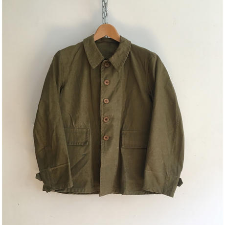 "1940 French Military Issue ""Bougeron"" Jacket"