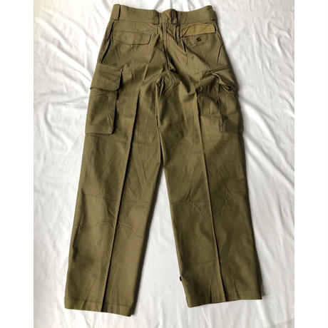 "Later 50's French Army M47 Field Trousers Dead Stock ""43"""