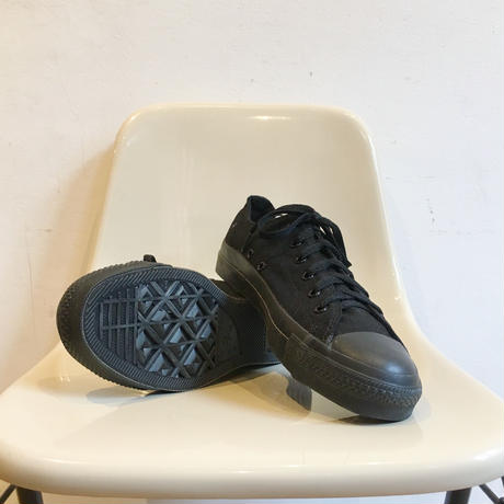 90's MADE IN USA CONVERSE ALL STAR Low Cut 箱付き Dead Stock  Size 8 Black