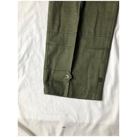 "60's French Army M47 Field Trousers Dead Stock ""13"" (Non Wash)"