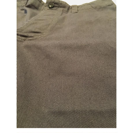 "OLD TOWN ""Plain Shorts"" GREY STOUT TWILL"