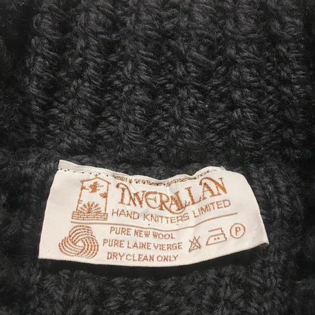 INVERALLAN 3A Cardigan Charcoal  38〜40