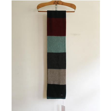 JO  GORDON Brushed Colorblock Scarf